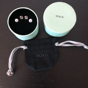 Tous pearl earrings
